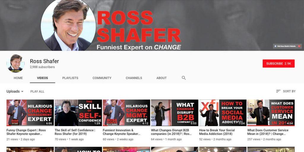 Ross Shafer Video Blog
